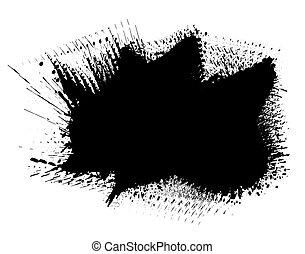 Ink splot