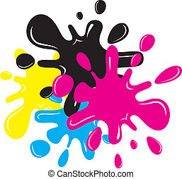 Inkblots - Vector Cartoon inkblots