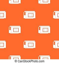Inkjet printer cartridge pattern seamless
