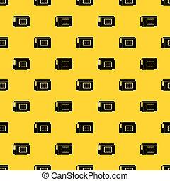 Inkjet printer cartridge pattern vector