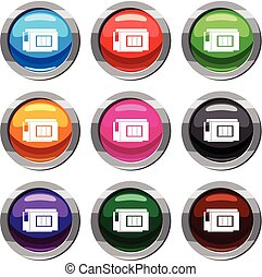 Inkjet printer cartridge set 9 collection - Inkjet printer...
