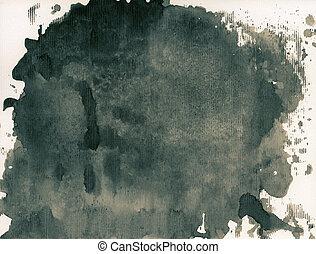 inkt, textuur
