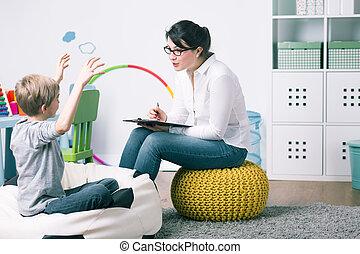 inlärning, kan, vara, verklig, fun!