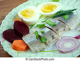 Inlagd sill - delicacy in Europe, and has become a part of...
