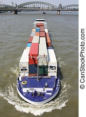 inland container vessel
