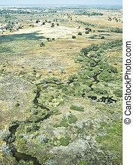 Inland delta - Okavango Delta, Botswana