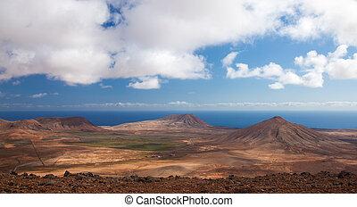 Inland Fuerteventura, northern part of the islands, Montana...