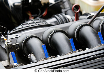 Inlet manifold of car engine
