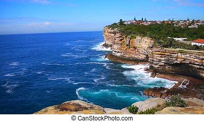 Inlet - sea of Australia