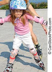 inline rollerblade child