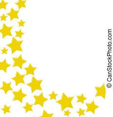 innemend, gouden ster, grens