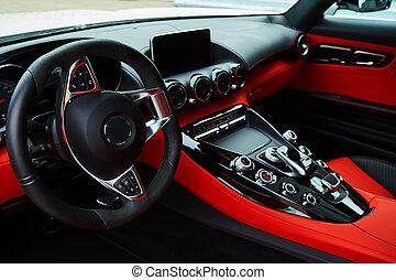 inneneinrichtung, auto, luxus