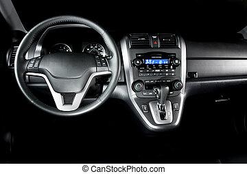 inneneinrichtung, auto, modern, luxus