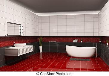 Inneneinrichtung badezimmer 3d badezimmer render for Inneneinrichtung badezimmer