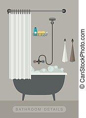 Dekoration inneneinrichtung badezimmer bad stock for Inneneinrichtung bad