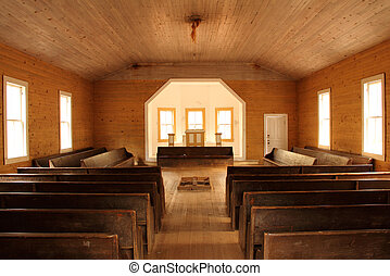 inneneinrichtung, baptist, kirche