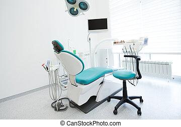 inneneinrichtung, dental, modern, buero