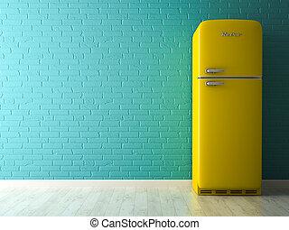 Retro Kühlschrank Niehoff : Retro khlschrank gelb retro khlschrank liter gefrierfach