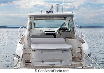 inneneinrichtung, motorboot