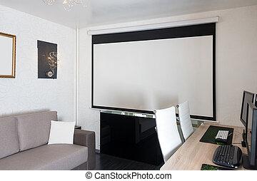 lebensunterhalt minimalist haus buero skandinavisch stockfotografie bilder und foto. Black Bedroom Furniture Sets. Home Design Ideas