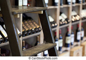 Inneneinrichtung, Weinkellerei