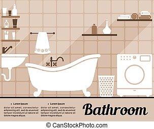 Wasserh hne modern altes vektoren illustration suche for Wohnung inneneinrichtung design