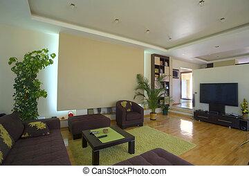 inneneinrichtung, wohnzimmer