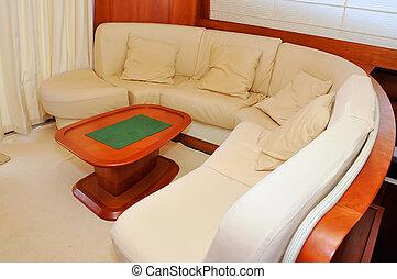 inneneinrichtung, yacht