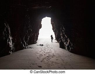 innenseite, cave.
