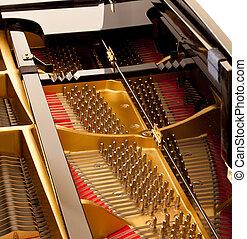 innenseite, klavier, großartig