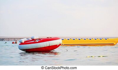 Inner Tube on water surf