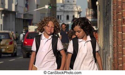 Innercity Elementary School Kids