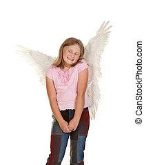 innocent fairy angel girl