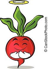 Innocent radish character cartoon collection