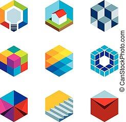 innovación, edificio, futuro, verdadero, est
