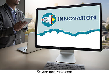 innovación, pensar, creativo, ideas, inventar, conocimiento, creativo, proceso
