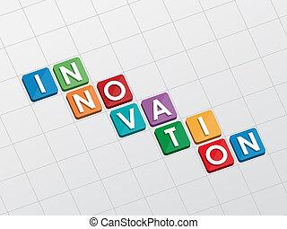 innovatie, plat, ontwerp