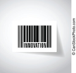 innovation barcode upc. illustration design