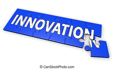Innovation Business Puzzle Concept