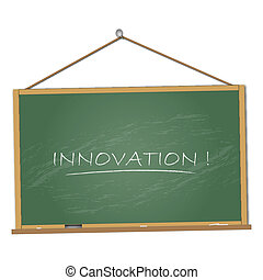Innovation Chalkboard Illustration