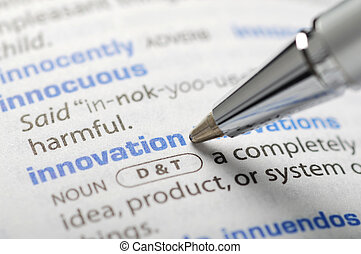 Innovation - Dictionary Series