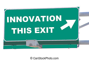 Innovation Exit - Exit sign concepts innovation this exit...