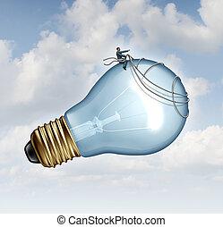 Innovation Guidance - Innovation guidance business concept ...