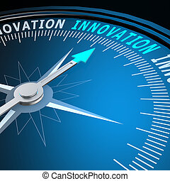 innovation, mot, compas