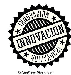 innovation stamp in spanish