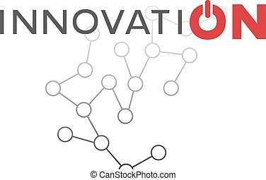 innovation tech button