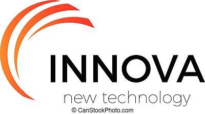 Innovation technology company abstract vector logo template....
