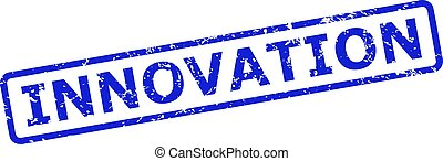 INNOVATION Watermark with Unclean Style and Rounded Rect Frame