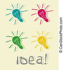 innovative , lamp., ιδέα
