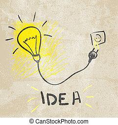 innovative , lamp., ιδέα , γενική ιδέα
